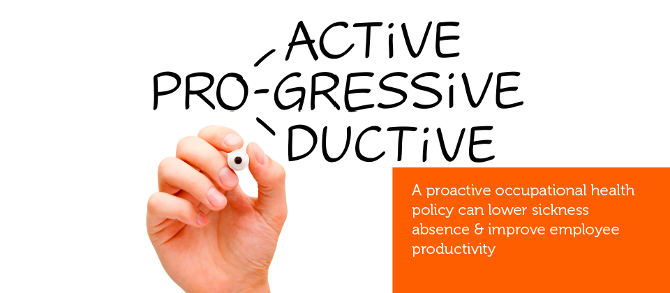 A hand writing the word pro, followed by gressive, active and ductive